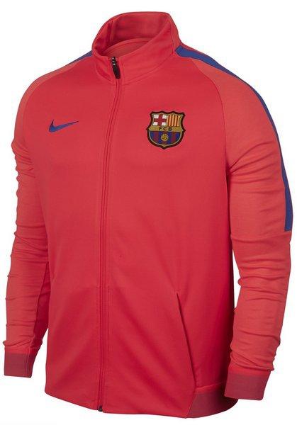 FC Barcelona pánská nike bunda strke trk - M Nike - doprava zdarma