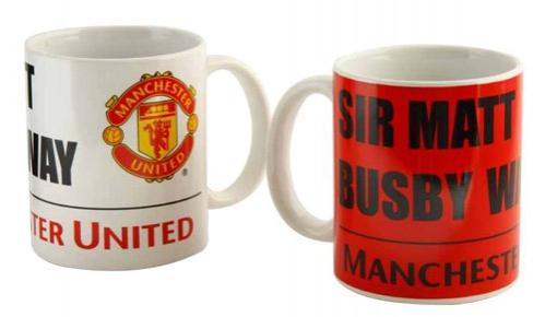 Manchester United keramický hrnek Sir Matt C-324273