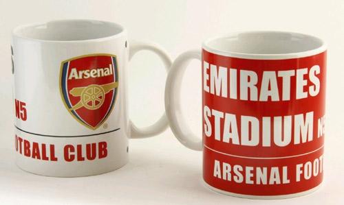 FC Arsenal keramický hrnek stadium 2ks C-325069