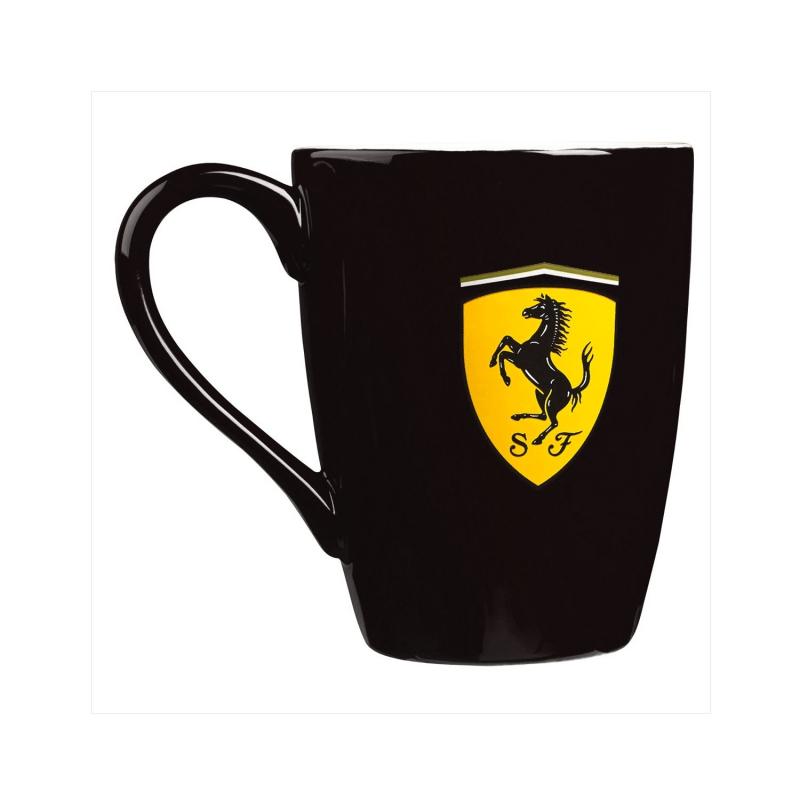Ferrari hrníček Scudetto black F1 Team 5100575-100-000