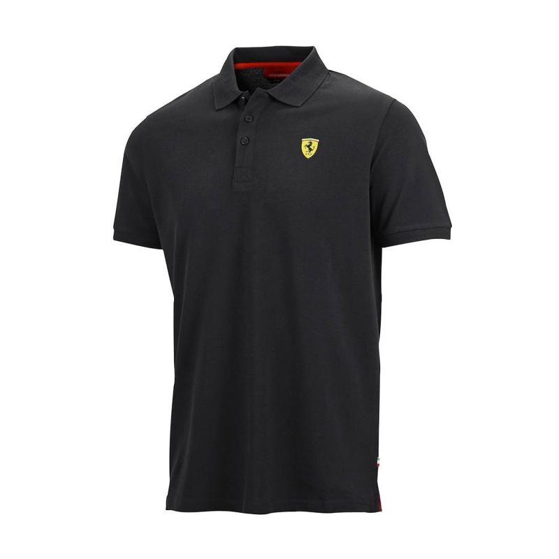 Ferrari pánské polo tričko Classic black F1 Team 2016 - FAN-store.cz 8773b9c2964