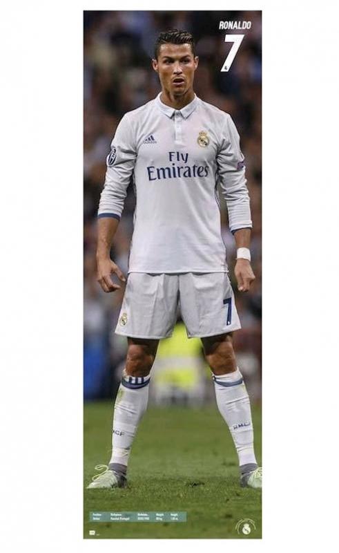 Real Madrid plakát Ronaldo 53 x 158 cm C-330895