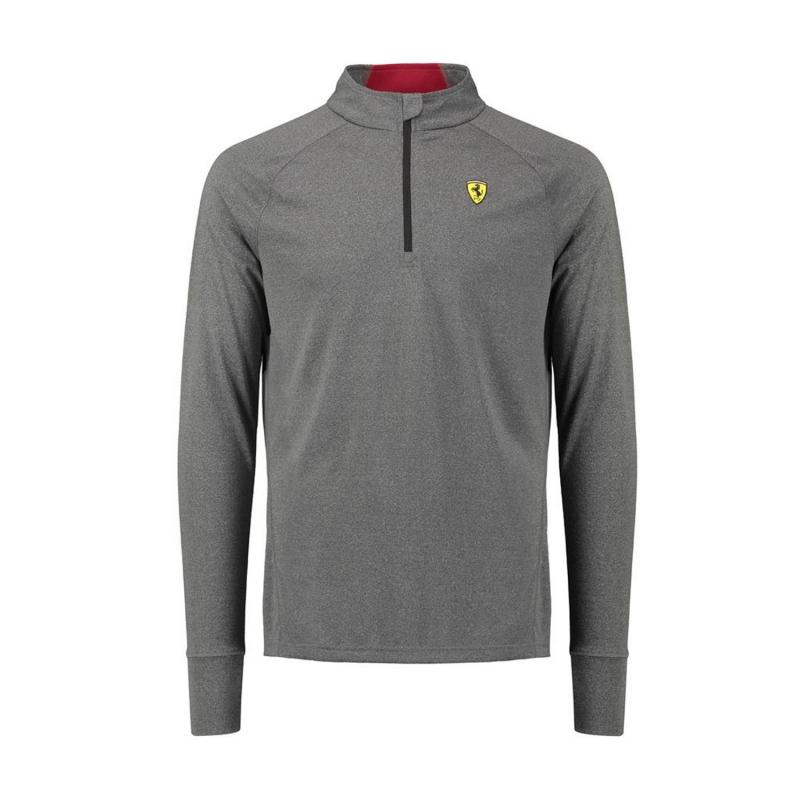 Ferrari pánská mikina Midlayer grey F1 Team 2018 - FAN-store.cz d179209462e