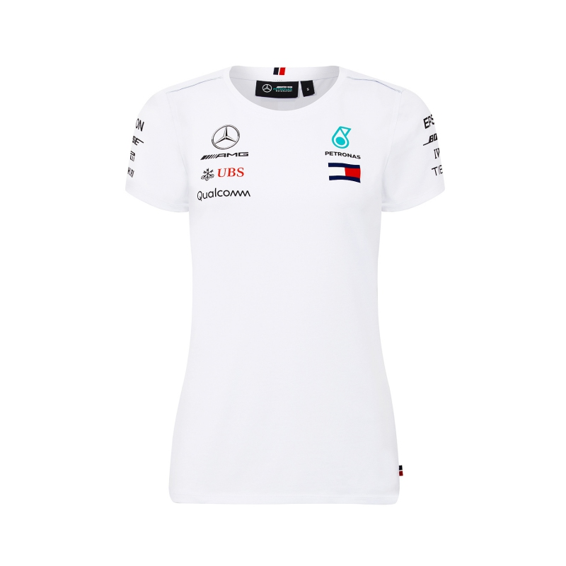 6745305cd551 Mercedes AMG Petronas dámské tričko white F1 Team 2018 - FAN-store.cz
