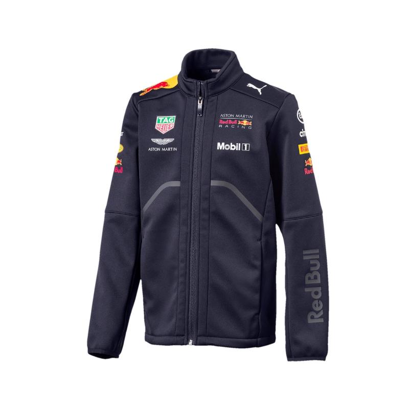 Puma Red Bull Racing dětská bunda Softshell navy F1 Team 2018 Puma 170781019502104 - doprava zdarma