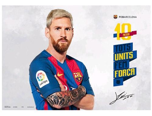 FC Barcelona podložka na stůl Messi Tots Units Fem C-330540