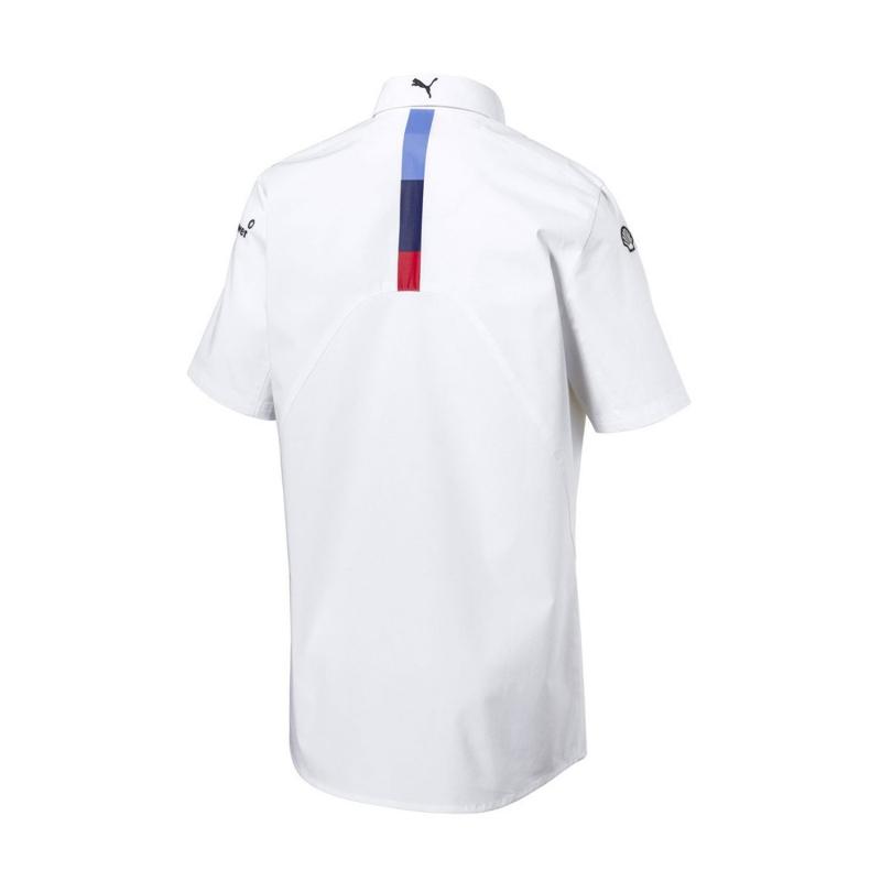 a4e66470ac Puma BMW Motorsport pánská košile white 2018 - FAN-store.cz