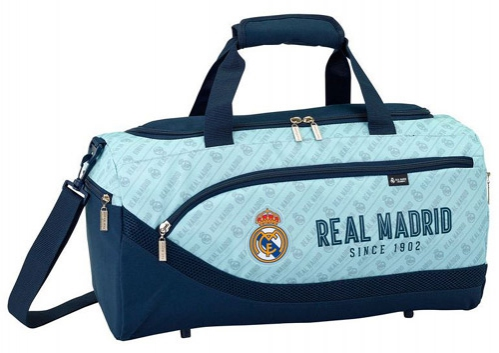 Real Madrid sportovní taška since 1902 light blue C-338647