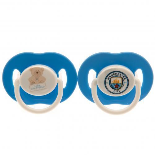 Manchester City dudlíky Soothers - FAN-store.cz de2bc93c4ba