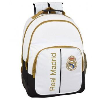 Real Madrid školní batoh 19 white