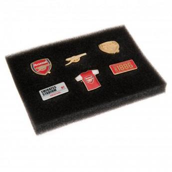 FC Arsenal set odznáčků 6 Piece Badge Set