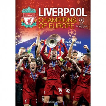 FC Liverpool kniha Champions of Europe Annual
