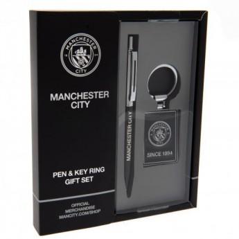 Manchester City propiska a klíčenka executive set