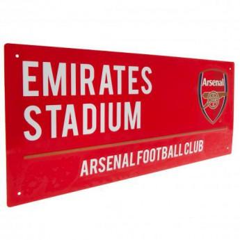 FC Arsenal cedule na zeď Street Sign RD