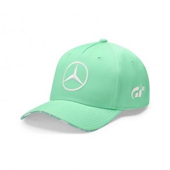 Mercedes AMG Petronas dětská čepice baseballová kšiltovka Lewis Hamilton Spa GP green F1 Team 2019