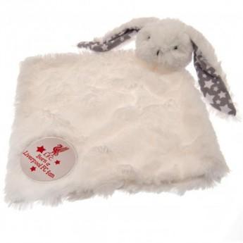 FC Liverpool dětská deka Baby Comforter Rabbit