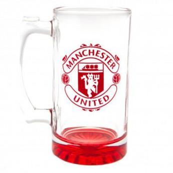 Manchester United sklenice Stein Glass Tankard