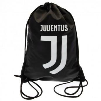 Juventus Turín pytlík gym bag logo black