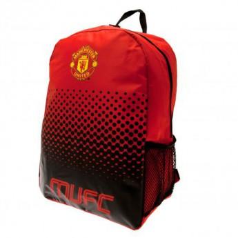 Manchester United batoh na záda Backpack red and black