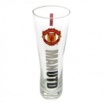 Manchester United sklenice Tall Beer Glass