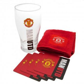 Manchester United barový set Mini Bar Set