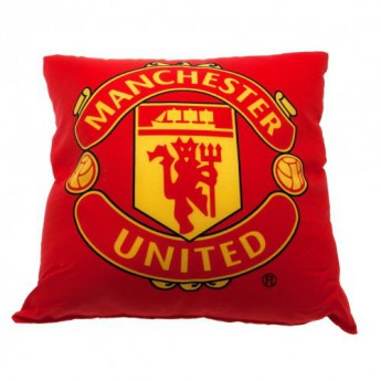 Manchester United polštářek red logo
