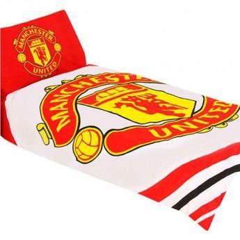 Manchester United povlečení na jednu postel Single Duvet Set PL
