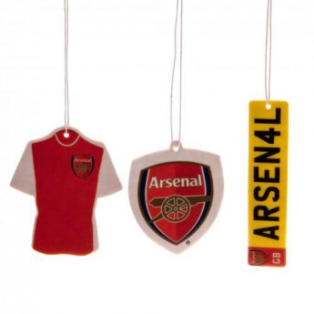 FC Arsenal vůně do auta 3pk Air Freshener
