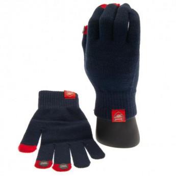 FC Arsenal pletené rukavice Knitted Gloves Adults