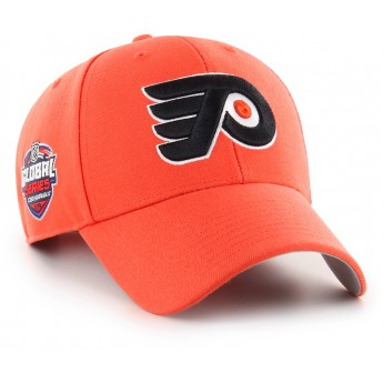 Philadelphia Flyers čepice baseballová kšiltovka 47 Brand Captain Sure Shot MVP NHL orange GS19