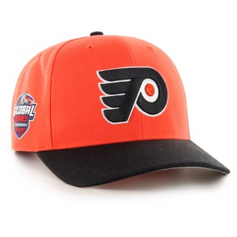 Philadelphia Flyers čepice baseballová kšiltovka 47 Brand Captain Sure Shot MVP DP NHL orange GS19