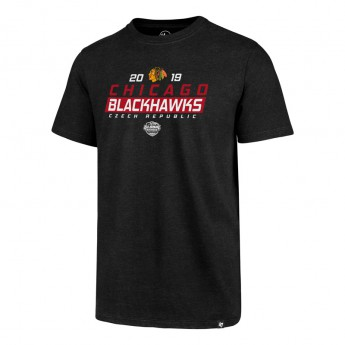 Chicago Blackhawks čepice baseballová kšiltovka 47 Brand Club Tee NHL black GS19