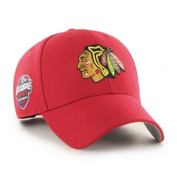 Chicago Blackhawks čepice baseballová kšiltovka 47 Brand Captain Sure Shot MVP NHL red GS19