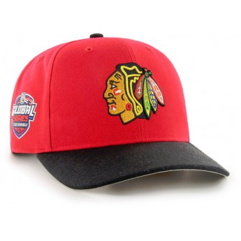 Chicago Blackhawks čepice baseballová kšiltovka 47 Brand Captain Sure Shot MVP DP NHL red GS19