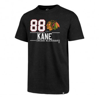 Chicago Blackhawks pánské tričko 47 Brand Player Name NHL Patrick Kane 88 black