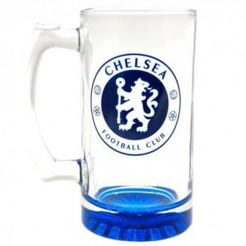 FC Chelsea sklenice Stein Glass Tankard CC