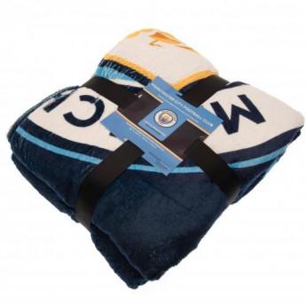 Manchester City fleecová deka Sherpa Blanket
