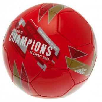 FC Liverpool fotbalový míč Champions Of Europe Football - size 5