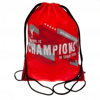 FC Liverpool pytlík gym bag Champions of Europe Gym Bag