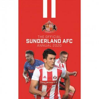 Sunderland kniha ročenka Annual 2020