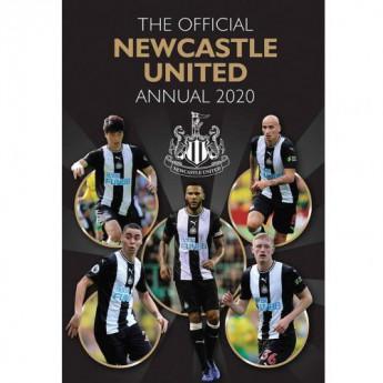 Newcastle United kniha ročenka Annual 2020