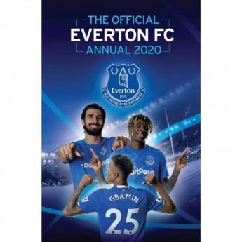 FC Everton kniha ročenka Annual 2020