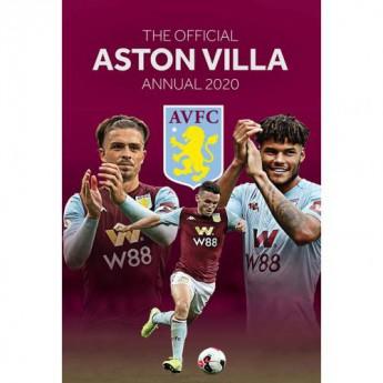 Aston Villa kniha ročenka Annual 2020