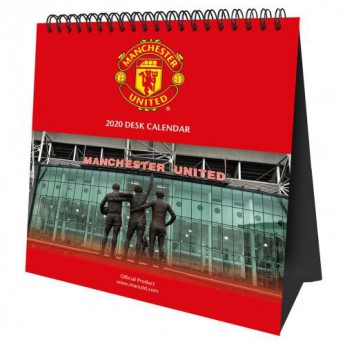 Manchester United stolní kalendář 2020