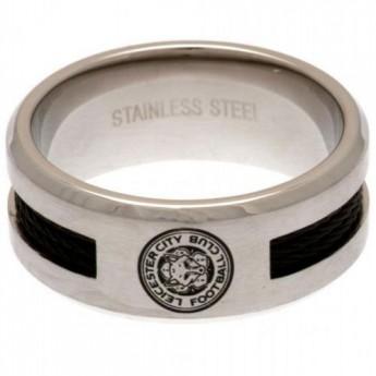 Leicester City prsten Black Inlay Ring Medium
