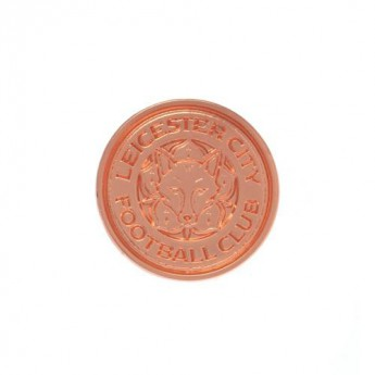 Leicester City odznak Rose Gold Plated Badge