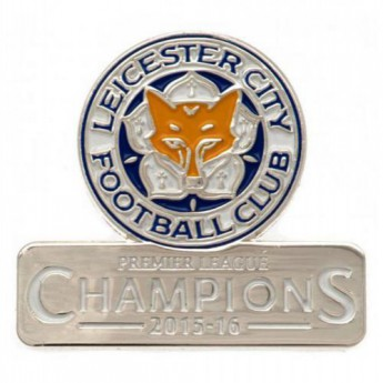 Leicester City odznak Badge Champions