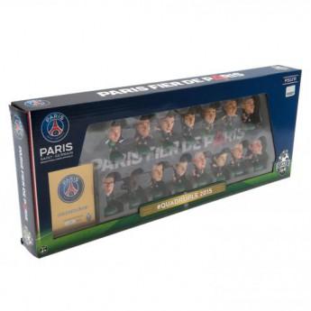 Paris Saint German set figurek SoccerStarz Quadruple Winners Team Pack limited edition