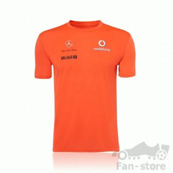 Vodafone McLaren Mercedes pánské tričko orange
