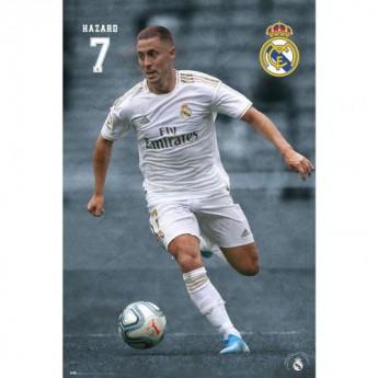 Real Madrid plakát Hazard 24